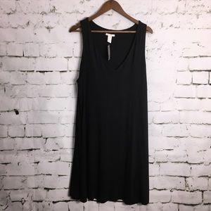5/$25/H&M Basics Versatile V Neck Dress